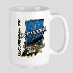 PCU Indiana Crest 15 oz Ceramic Large Mug