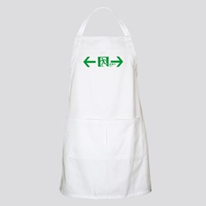 """Japanese exit sign"" BBQ Apron"