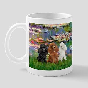 Lilies #2/3 Poodles (TM) Mug