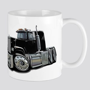 Mack Superliner Black Truck Mug