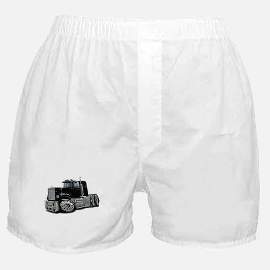 Mack Superliner Black Truck Boxer Shorts