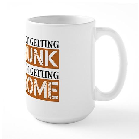 Drunk Awesome Large Mug