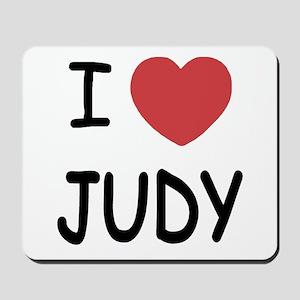 I heart Judy Mousepad