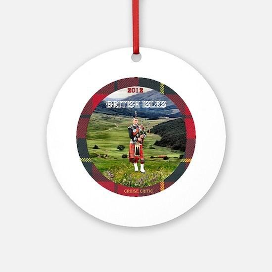 British Isles - Ornament (Round)