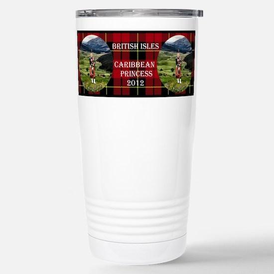British Isles - Stainless Steel Travel Mug