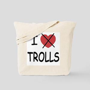 I hate trolls Tote Bag