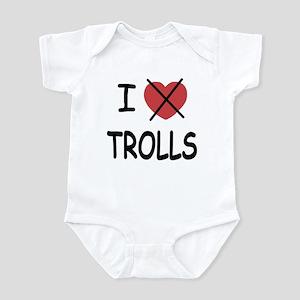 I hate trolls Infant Bodysuit