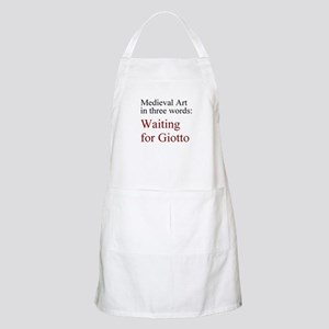 Waiting for Giotto Apron