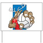 Bucks County Volleyball Yard Sign