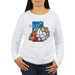 Bucks County Volleyball Women's Long Sleeve T-Shir