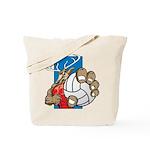 Bucks County Volleyball Tote Bag