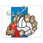 Bucks County Volleyball Small Poster