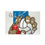 Bucks County Volleyball Rectangle Magnet