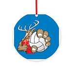 Bucks County Volleyball Ornament (Round)