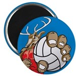 Bucks County Volleyball Magnet