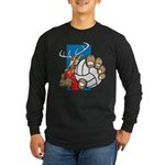 Bucks County Volleyball Long Sleeve Dark T-Shirt