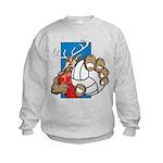 Bucks County Volleyball Kids Sweatshirt