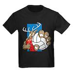 Bucks County Volleyball Kids Dark T-Shirt