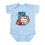 Bucks County Volleyball Infant Bodysuit