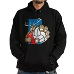Bucks County Volleyball Hoodie (dark)