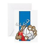 Bucks County Volleyball Greeting Card
