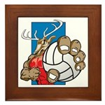 Bucks County Volleyball Framed Tile