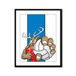 Bucks County Volleyball Framed Panel Print