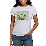 Tulips Watercolor Women's T-Shirt