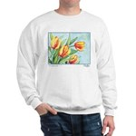 Tulips Watercolor Sweatshirt
