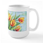 Tulips Watercolor Large Mug