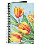 Tulips Watercolor Journal