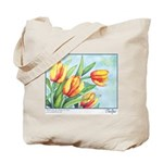 Tulips Watercolor Tote Bag