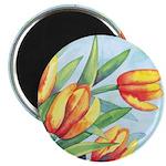 Tulips Watercolor Magnet