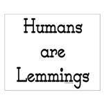 Lemmings Small Poster