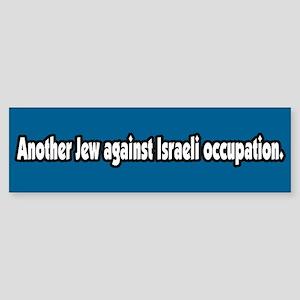Jews Against Israeli Occupation Bumper Sticker