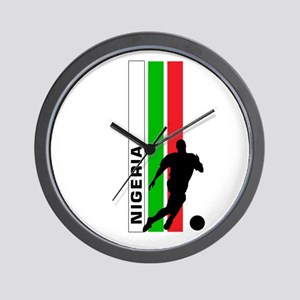 NIGERIA FOOTBALL 3 Wall Clock