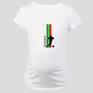 NIGERIA FOOTBALL 3 Maternity T-Shirt