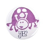 "Ladybug Stamp 3.5"" Button (100 pack)"