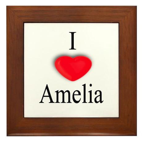 Amelia Framed Tile