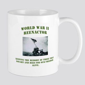 WWII GI Reenactor Mug