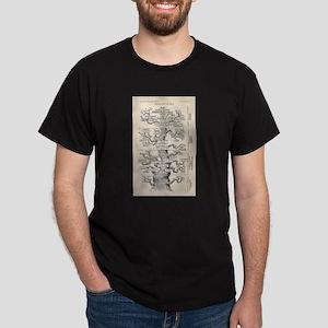 Ernst Haeckel Tree of Life Pedigree of Man T-Shirt