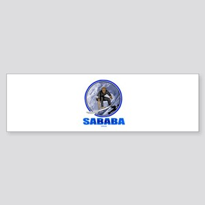 Sababa Hebrew Sticker (Bumper)