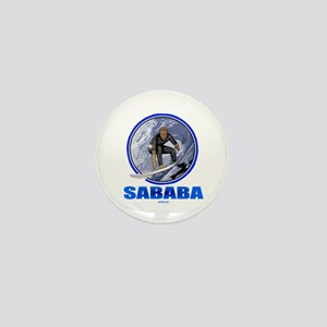 Sababa Hebrew Mini Button