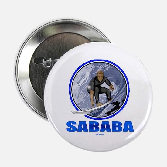"Sababa Hebrew 2.25"" Button"