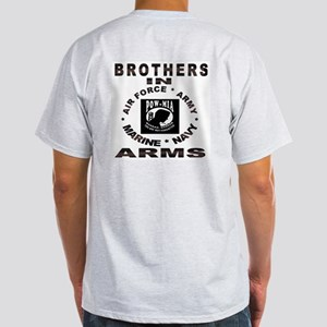 BROTHERS IN ARMS Ash Grey T-Shirt