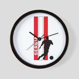 SERBIA FOOTBALL 3 Wall Clock