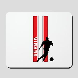SERBIA FOOTBALL 3 Mousepad
