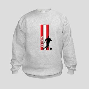 SERBIA FOOTBALL 3 Kids Sweatshirt