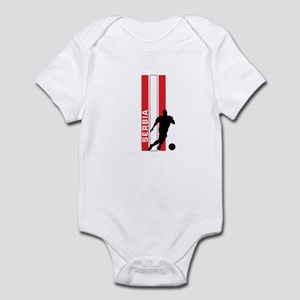 SERBIA FOOTBALL 3 Infant Bodysuit
