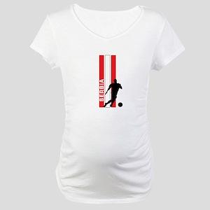 SERBIA FOOTBALL 3 Maternity T-Shirt